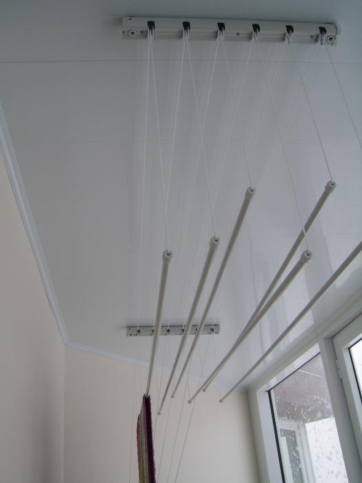 Если у Вас уже сделана отделка балкона, подшит потолок, то сушку не устанавливаем, т.к. для ее установки...