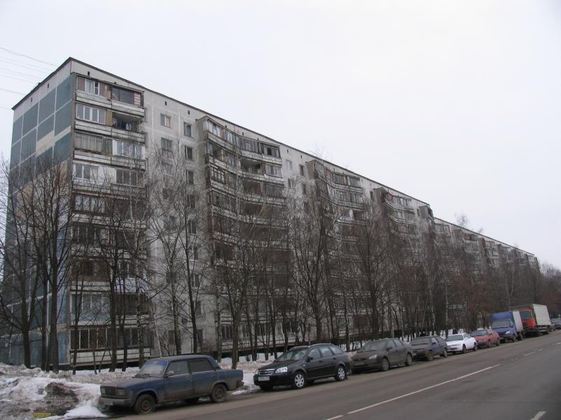 Остекление балконов в панельной девятиэтажке серии 515..